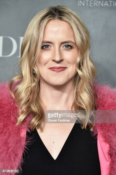 Anne Huntington attends the 2017 Guggenheim International Gala PreParty made possible by Dior on November 15 2017 in New York City