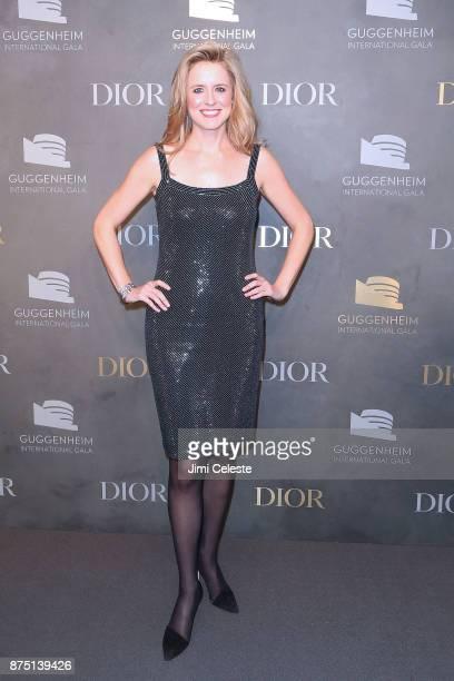 Anne Huntington attends the 2017 Guggenheim International Gala on November 16 2017 in New York City