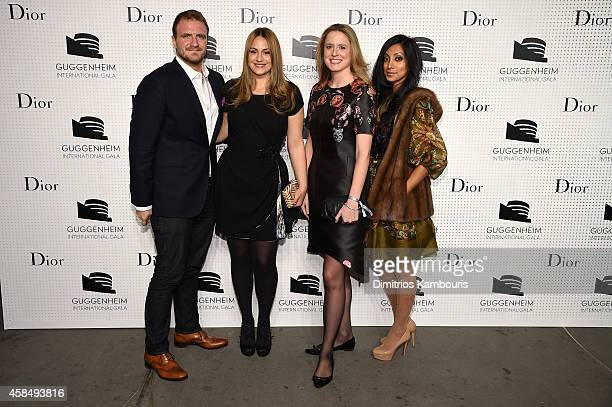 Anne Huntington attends the Guggenheim International Gala PreParty made possible by Dior on November 5 2014 in New York City