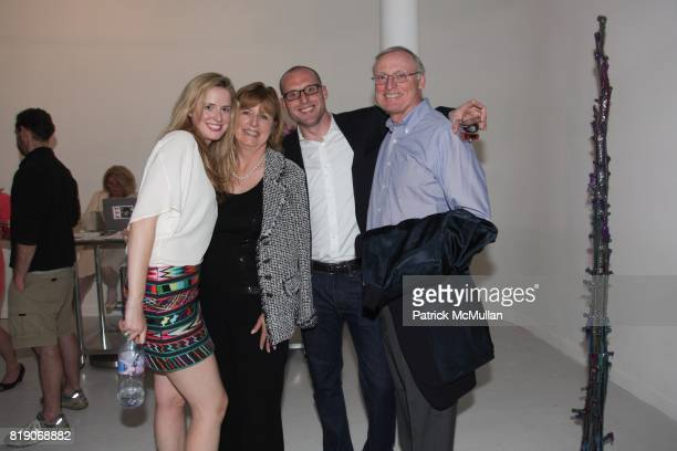 Anne Huntington Eileen Huntington Ray Huntington and Robert Huntington attend PYT Pretty Young Thing cocurated by Anne Huntington Diana Campbell at...