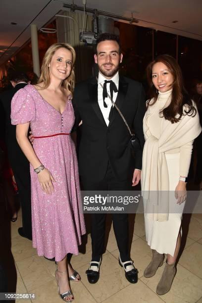 Anne Huntington Logan Horne and Sabrina Hahn attend American Federation Of Arts 2018 Gala at Guastavino's on November 8 2018 in New York City