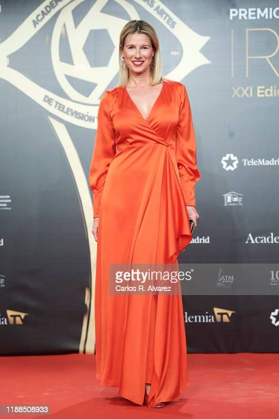 Anne Igartiburu attends 'Iris Academia de Television' awards at Nuevo Teatro Alcala on November 18 2019 in Madrid Spain