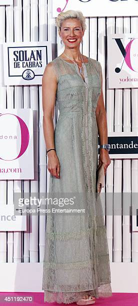 Anne Igartiburu attends 'IX International Yo Dona Awards' on June 24 2014 in Madrid Spain