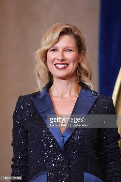 Anne Igartiburu attends RTVE Christmas Season Presentation at Royal Theatre on December 17 2019 in Madrid Spain