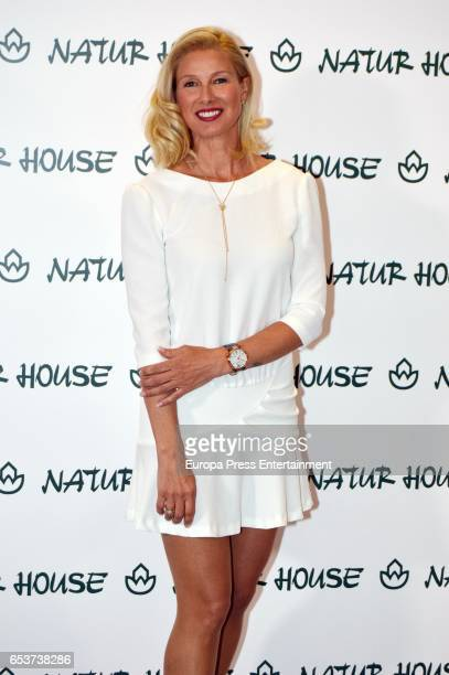 Anne Igartiburu attends the 25th Anniversary of Natur House on March 15 2017 in Madrid Spain