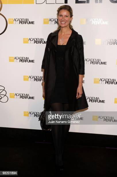 Anne Igartiburu attends the 'Academia del Perfume' awards on November 18 2009 in Madrid Spain