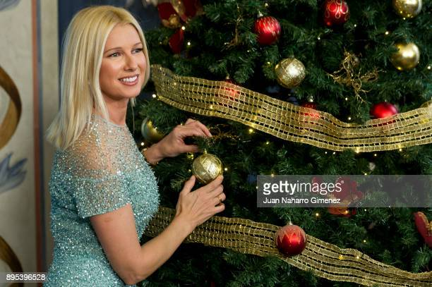 Anne Igartiburu attends TVE Christmas season presentation at Royal Theatre on December 19 2017 in Madrid Spain
