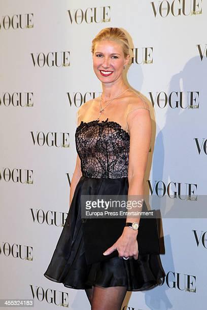 Anne Igartiburu attends Vogue Joyas 2013 Awards on December 11 2013 in Madrid Spain