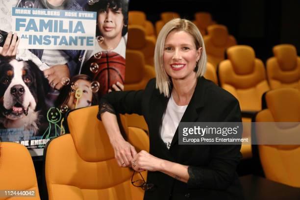 Anne Igartiburu presents 'Familia al instante' on January 23 2019 in Madrid Spain