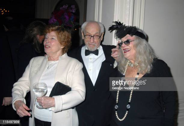 Anne Jackson, Eli Wallach and Sylvia Miles during The Academy of Motion Picture Arts and Sciences Official New York 2007 Oscar Party at St. Regis...