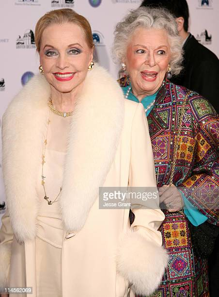 Anne Jeffreys and Ann Rutherford during Griffith Observatory ReOpening Galactic Gala at Griffith Observatory in Los Angeles CA United States