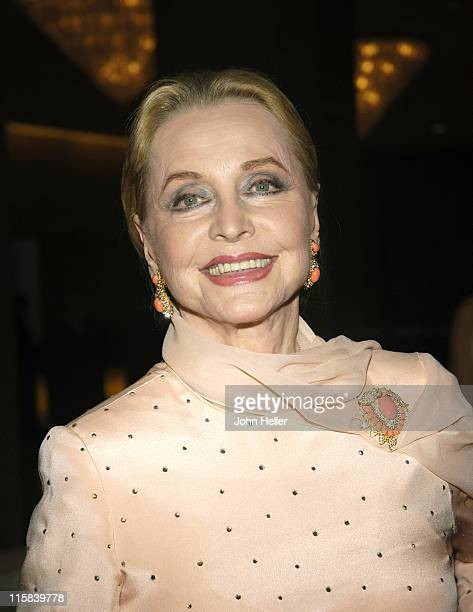Anne Jeffreys during 2005 Vision Awards at The Beverly Hilton Hotel in Los Angeles California United States