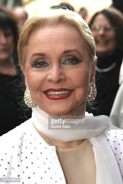 Anne Jeffreys during Chitty Chitty Bang Bang Broadway Opening Night Arrivals at The Hilton Theater in New York City New York United States