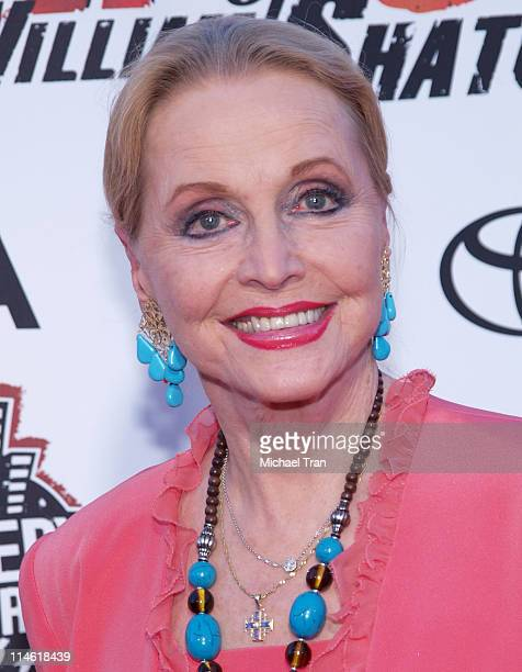 Anne Jeffreys during Comedy Central's Roast of William Shatner Arrivals at CBS Studio Center in Studio City California United States