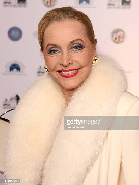 Anne Jeffreys during Griffith Observatory ReOpening Galactic Gala at Griffith Observatory in Los Angeles CA United States
