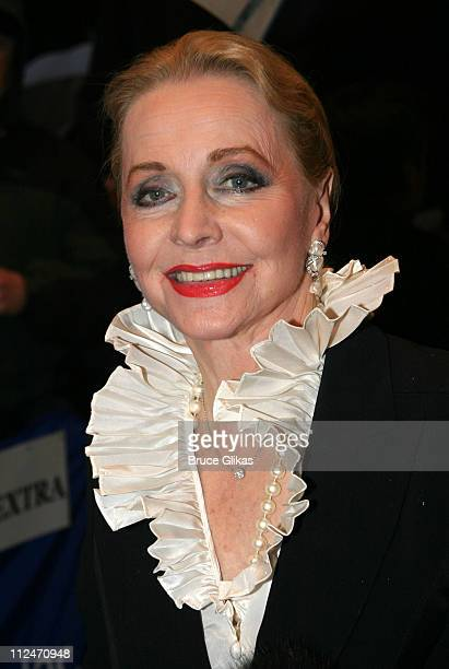 Anne Jeffreys during Opening Night of 'Match' on Broadway Arrivals at The Plymouth Theater in New York City New York United States