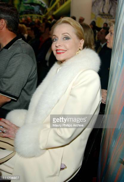 Anne Jeffreys during Press Conference to Open The Motion Picture Hall of Fame in Hollywood at Hollywood Vine in Hollywood California United States