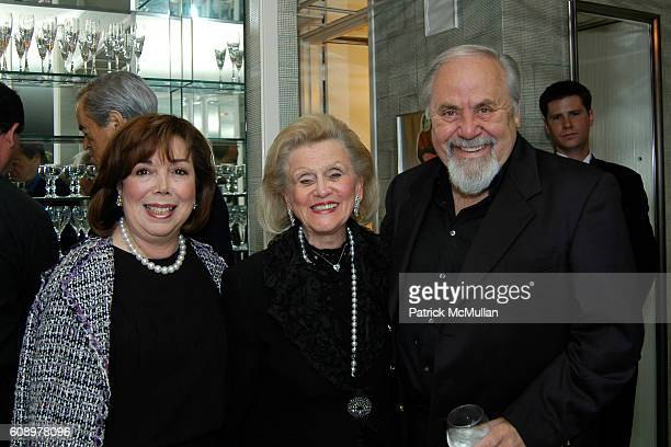 Anne Johnson Barbara Davis and George Schlatter attend Nikki Haskell Birthday Celebration at Sierra Towers on May 17 2007 in West Hollywood CA