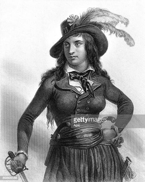 Anne Joseph Mericourt dite Theroigne de Mericourt mistress of the Marquis de Persan she stormed the Bastille and participated to the women 's March...
