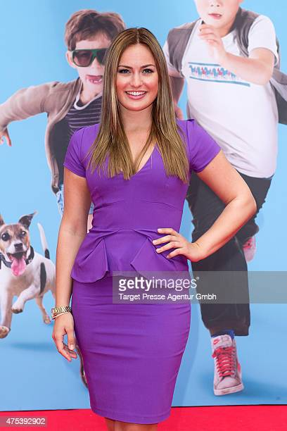Anne Julia Hagen attends the Berlin premiere for the film 'Rico Oskar und das Herzgebreche' at Zoo Palast on May 31 2015 in Berlin Germany