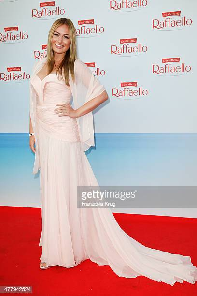 Anne Julia Hagen attends the Raffaello Summer Day 2015 to celebrate the 25th anniversary of Raffaello on June 20 2015 in Berlin Germany