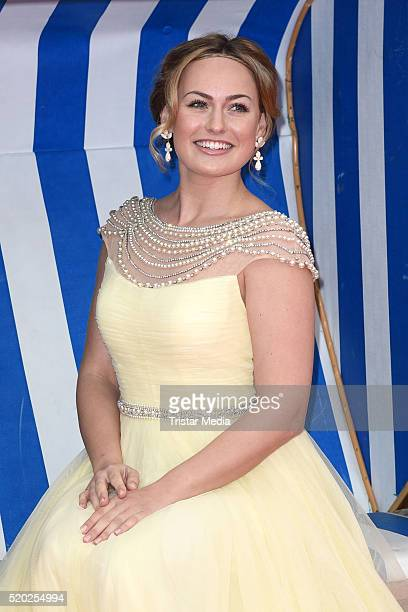 Anne Julia Hagen attends the 'Rico Oskar und der Diebstahlstein' Berlin Premiere on April 10 2016 in Berlin Germany