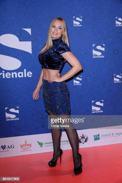 Anne Julia Hagen attends the Serienale Opening on September 27 2017 in Berlin Germany
