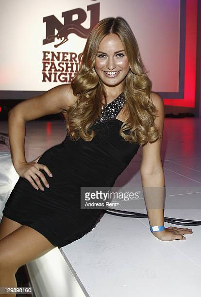 Anne Julia Hagen attends We Love Energy Fashion Night on October 21 2011 in Berlin Germany