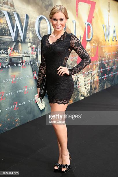 Anne Julia Hagen attends 'WORLD WAR Z' Germany Premiere at Sony Centre on June 4 2013 in Berlin Germany