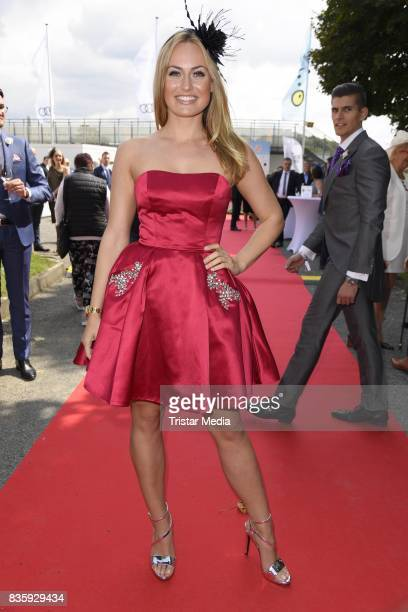 Anne Julia Hagen during the Audi Ascot Race Day 2017 on August 20 2017 in Hanover Germany
