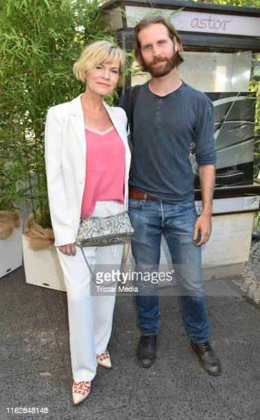 Anne Kasprik and Alexander Kasprik attend the Goetz George Award at Astor Film Lounge on August 19 2019 in Berlin Germany