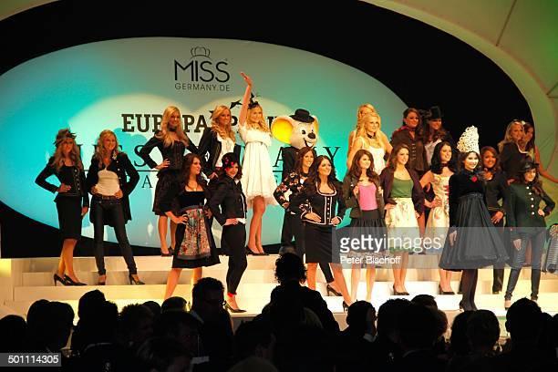 Anne Kathrin Kosch die weiteren Missen 'Miss Germany'Wahl 2011 'Europa Park' Rust bei Freiburg BadenWürttemberg Deutschland Europa Bühne Auftritt...