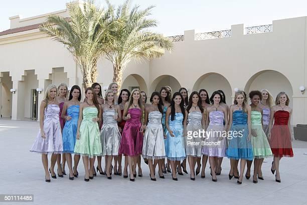 Anne Kathrin Kosch Tiffany Sachs Samantha Striegel Teilnehmerinnen 'Miss Germany'Wahl 2011 vom 122 'Miss Germany 2011'Training 'Miss Germany Beauty...