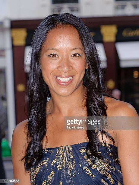 Anne Keothavong attends the Ralph Lauren Wimbledon party on June 17 2010 in London England