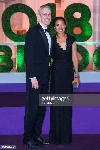 Anne Keothavong attends the Wimbledon Champions Dinner at The Guildhall on July 15 2018 in London England