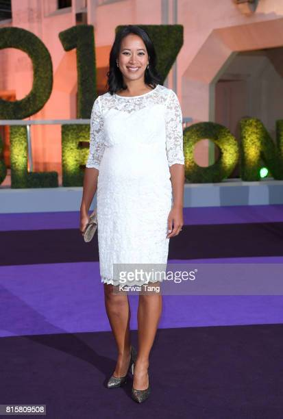 Anne Keothavong attends the Wimbledon Winners Dinner at The Guildhall on July 16 2017 in London England