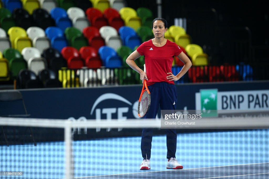 GBR: Great Britain v Kazakhstan - Fed Cup: Day 2