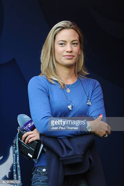 Anne Laure BONNET during the football french Ligue 1 match between Olympique Lyonnais and As Monaco at Stade des Lumi����res on May 7 2016 in Lyon...