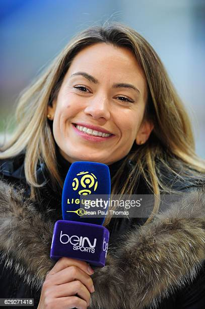 Anne Laure Bonnet during the French Ligue 1 match between Lyon and Rennes at Stade des Lumieres on December 11 2016 in Decimes France