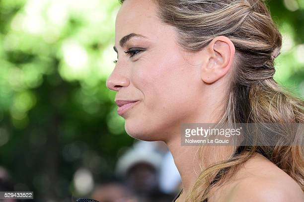 Anne Laure Bonnet of Beinsport during the ceremony for the UNFP Trophy Awards on May 8 2016 in Paris France