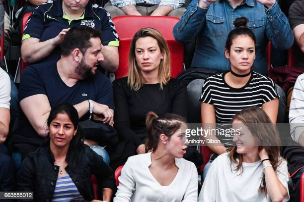 Anne laure Bonnet Shirley Cruz and Veroniqua Boquete of PSG during the Champions League match between Paris Saint Germain and Nantes at Stade Pierre...