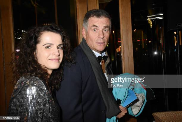 Anne Laure Gruet and Bruno Gaccio attend the Dinner at 'Le Bouillon' Restaurant as part 2 of 'Les Fooding 2018' Cocktail at Les Follies Pigalle 11...