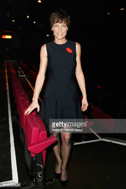 Anne Le Nen attends 'Les Monologues du Vagin' during 'Paroles Citoyennes 10 shows to wonder about the society' at Bobino on March 8 2018 in Paris...