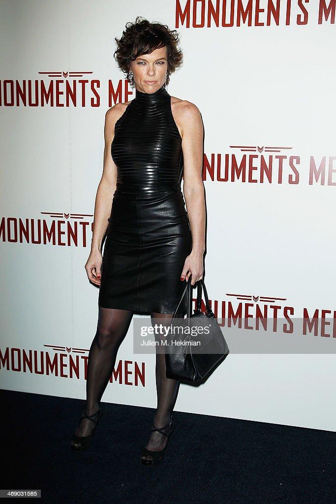 'Monuments Men' : Premiere  At Cinema UGC Normandie In Paris : News Photo