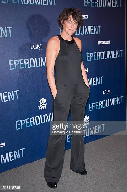 Anne Le Nen attends the Eperdument Paris Premiere at Cinema UGC Normandie on February 29 2016 in Paris France