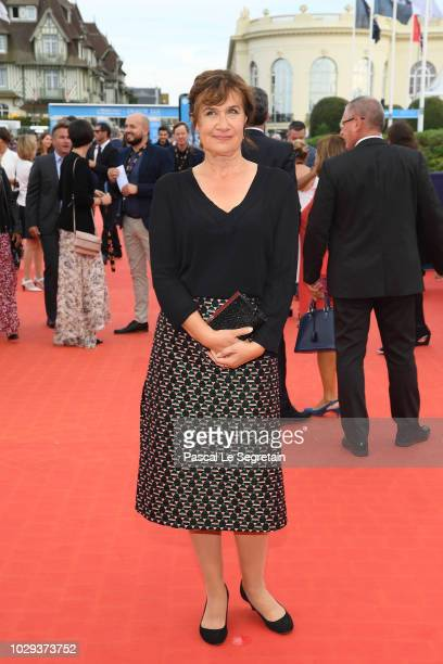 Anne Le Ny attends the closing ceremony of the 44th Deauville American Film Festival on September 8 2018 in Deauville France