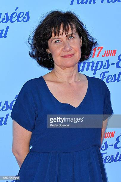 Anne Le Ny attends the On A Failli Etre Amies Paris Premiere during Day 6 of the Champs Elysees Film Festival on June 16, 2014 in Paris, France.