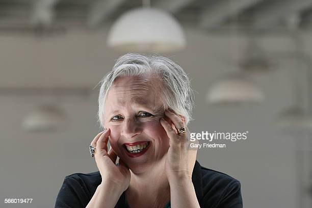 Anne LeBaron is photographed in Los Angeles on May 29 2012 She wrote the music for Crescent City whice recently closed at Atwater Crossing in Los...