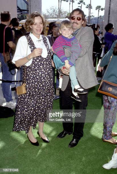 Anne Lockhart and family during Teenage Mutant Ninja Turtles II The Secret of the Ooze Los Angeles Premiere at Cineplex Odeon Cinema in Universal...