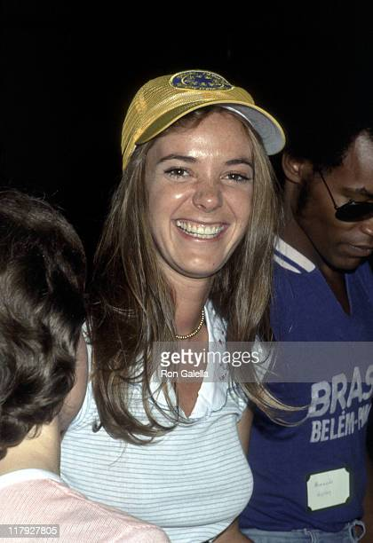 Anne Lockhart during Celebrities at the 1977 Special Olympics at UCLA Campus in Los Angeles California United States